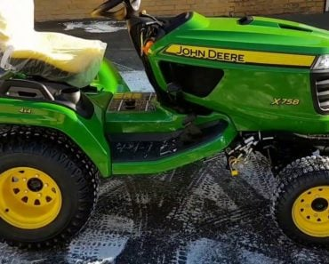 This is The Most Expensive Lawn Mower in the World