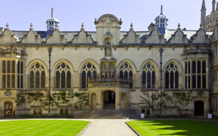 Oxford University campus building