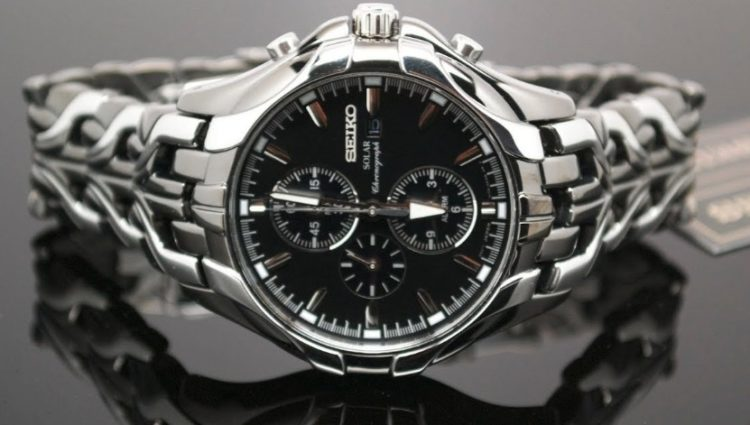 Seiko Excelsior Solar Powered Ion