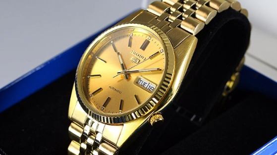 SGF206 Gold-Tone Stainless Steel