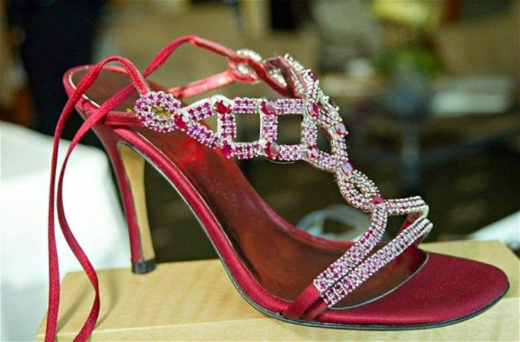 Stuart Weitzman Wizard of Oz Ruby Stilettos