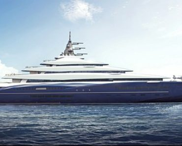 A Closer Look at The $770 million Superyacht Double Century