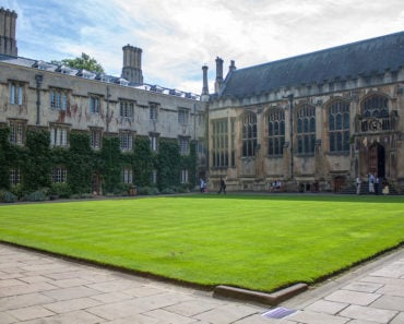 Exeter College Quad