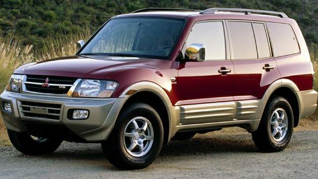 2001 Mitsubishi Montero SUV 4WD