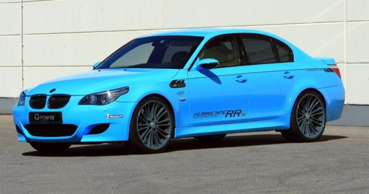 2012 BMW M5 G-Power Hurricane
