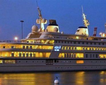 A Closer Look at the $300 Million Superyacht Al Said
