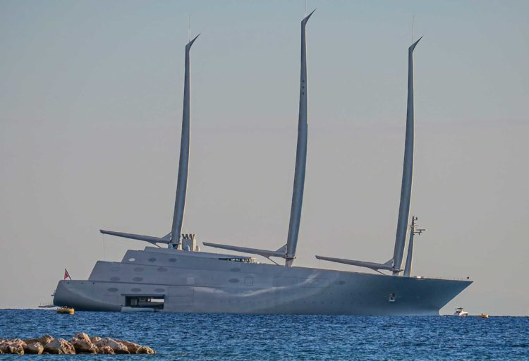 Sailing Yacht A/White Pearl