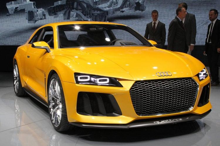 Audi Sport Quattro Hybrid Concept front end