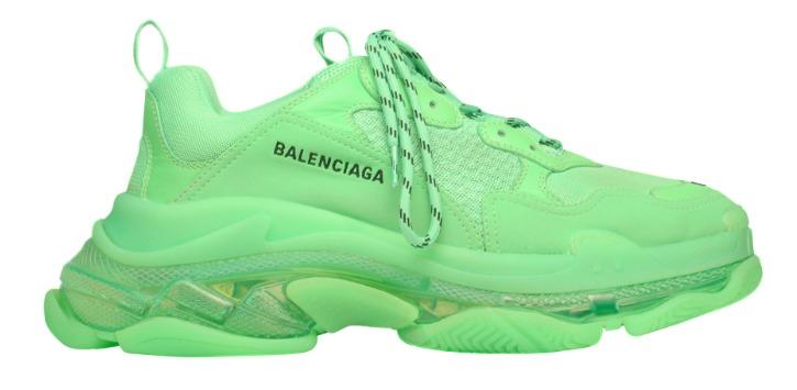 Balenciaga Triple S (Neon Green)