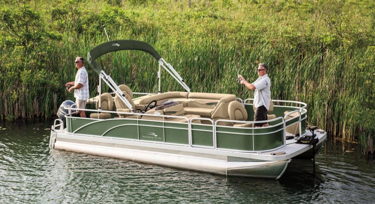 Bennington S21 Fishing Pontoon Boat
