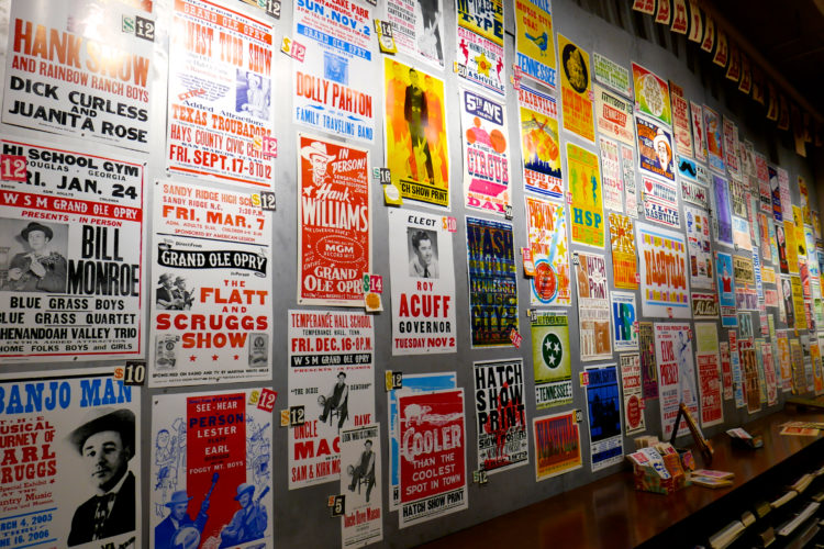 Hatch Show Print Posters Nashville
