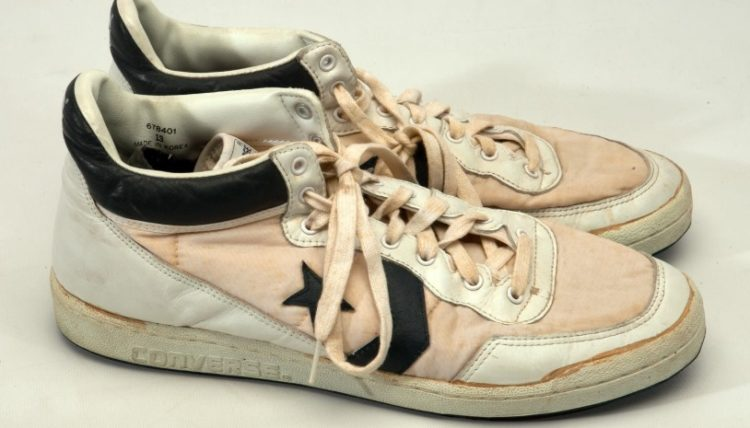 Michael Jordan's Game Worn Converse Fastbreak