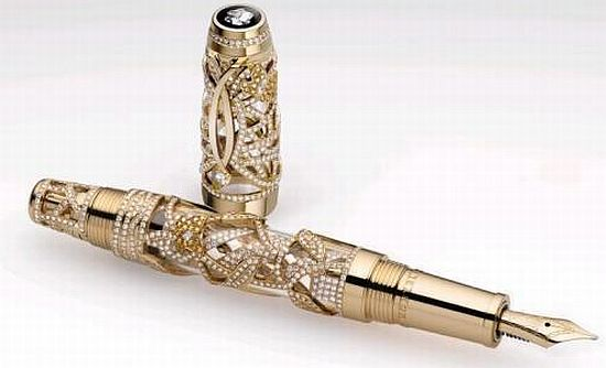 montblanc limited edition fountain pens