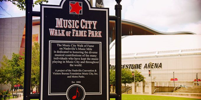 Music City Walk of Fame Nashville