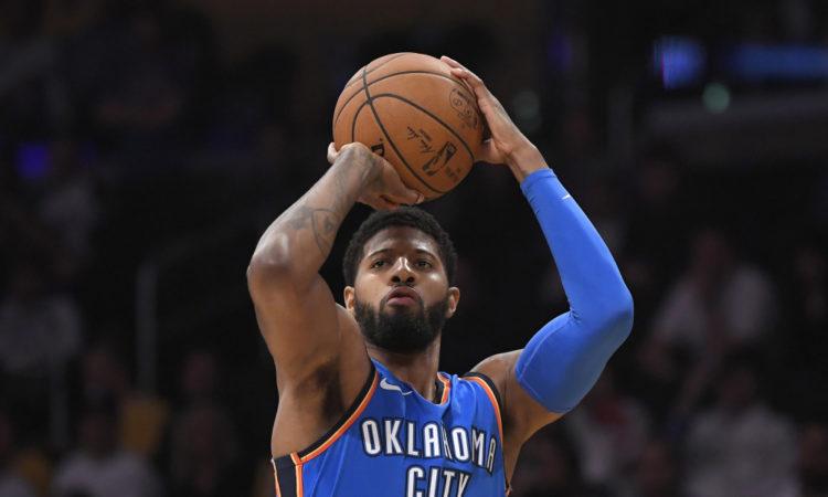 Oklahoma City Thunder forward Paul George