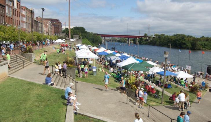 Riverfront Park Nashville