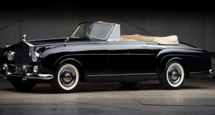 Rolls Royce Silver Cloud I Drophead Coupe (1957) by H.J. Mulliner