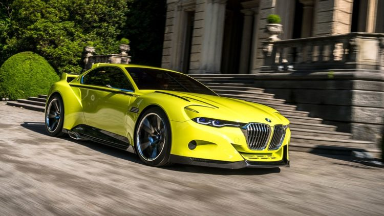 The BMW 3.0 CSL Hommage Concept