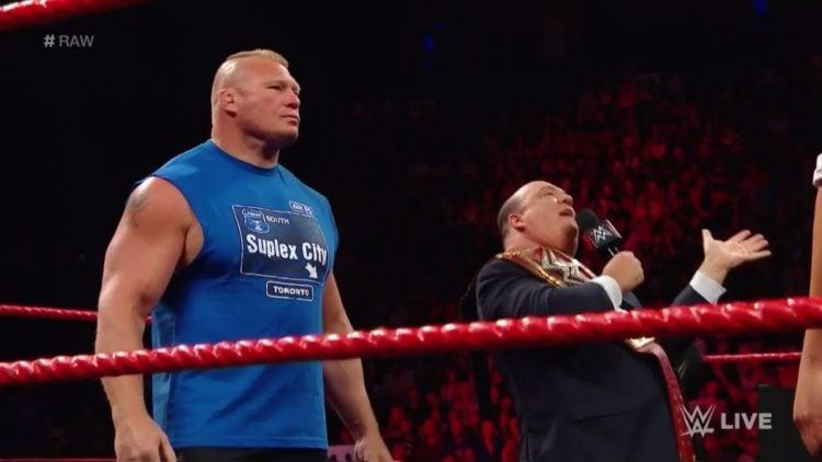 Brock Lesnar WWE Raw