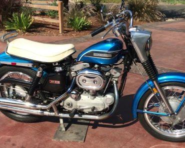 1969 Harley Davidson Sportster XLH
