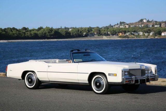 1976 Cadillac Eldorado Convertible, serie Fleetwood