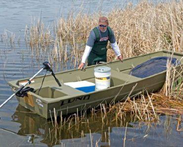 2019 Lund 1436L Jon Boat