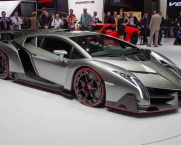 $9.5 Million Lamborghini Veneno Roadster