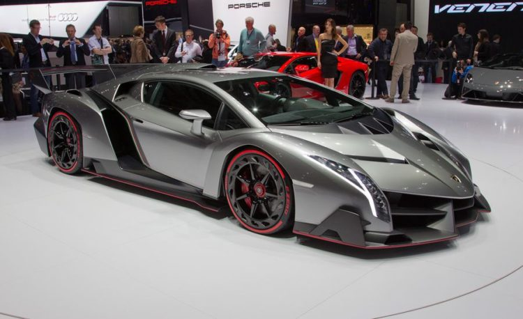 $9.5 Million Lamborghini Veneno Roadster