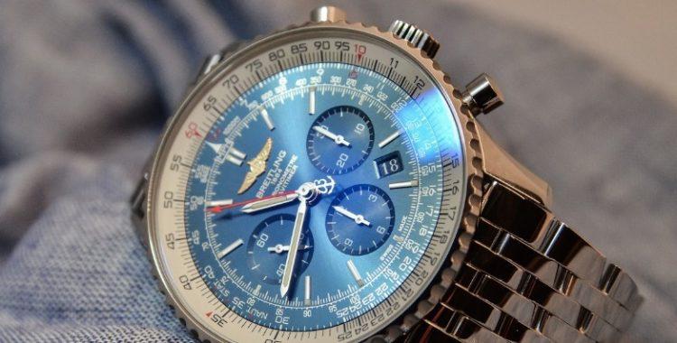 Breitling Navitimer 01 Blue Dial