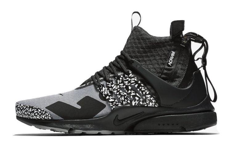 Nike Acronym x Air Presto Mid 'Cool Grey'