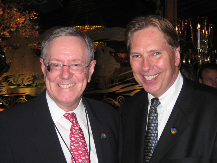 Peter Weedfald and Steve Forbes