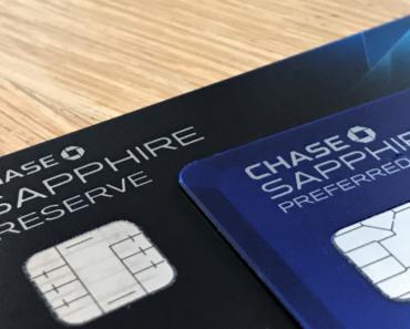 Card Comparison: Chase Sapphire Reserve vs Preferred