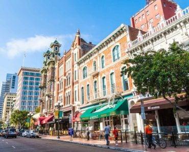 San Diego Gaslamp Quarter Street View