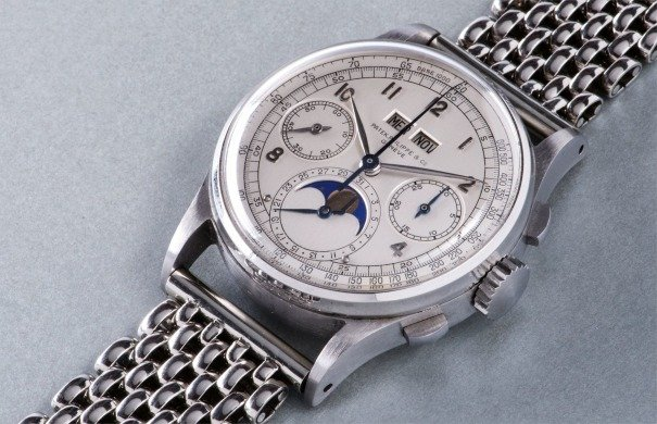 The Patek Philippe 1944 Wristwatch in Stainless Steel