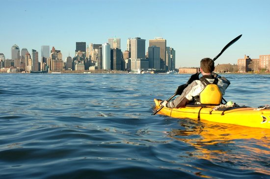 kayaking in the hudson river nyc