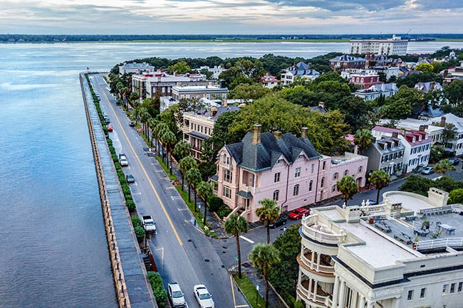walk the battery charleston sc