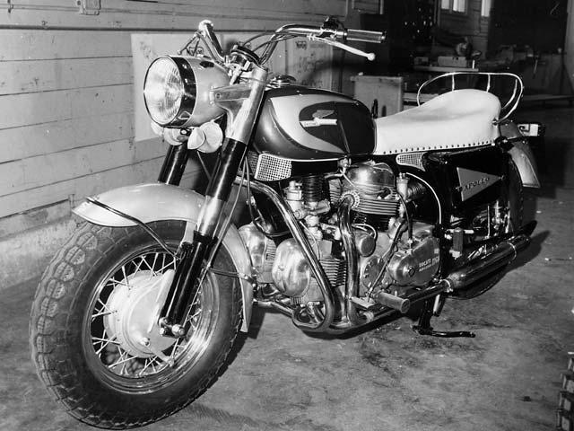 1964 Ducati Berliner Apollo 1260 (Prototype)