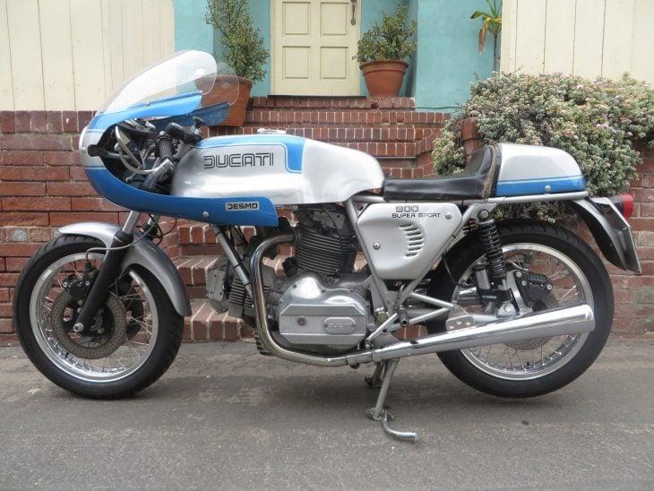 1974-77 Ducati 900 Supersport Twin