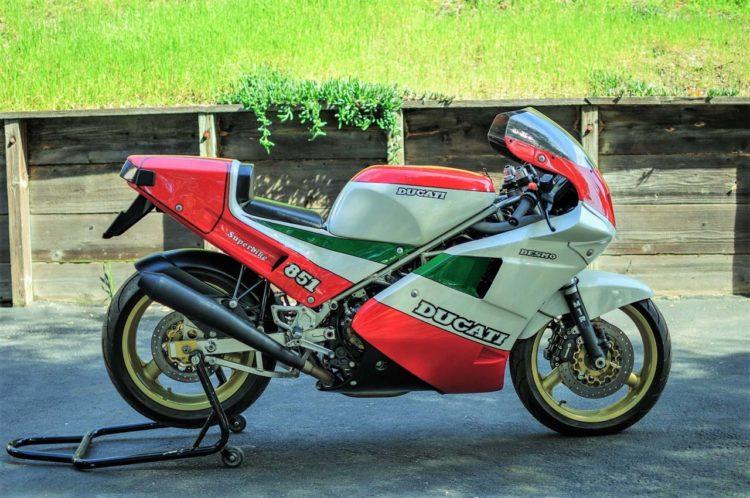 1988 MY Ducati 851 Strada
