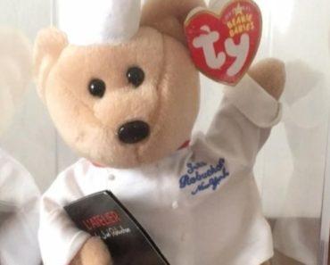 Chef Robuchon Beanie Baby
