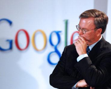 Eric Schmidt, chief executive officer of Google Inc.,