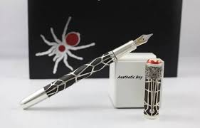 Fountain Pen Heritage Rouge et Noir Spider Metamorphosis Limited Edition 1906