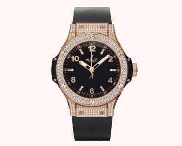 Hublot Classic Pink and Gold Diamond