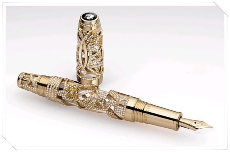 Limited Edition Boehme Papillion Pen by Montblanc