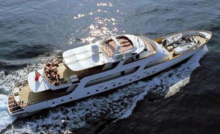 Nicolas Cage Yacht Sarita