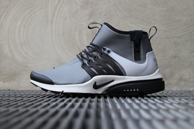 A Closer Look at the Nike Acronym x Air Presto Mid Cool Grey