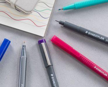 Staedtler Pigment Liner black fineliner pens