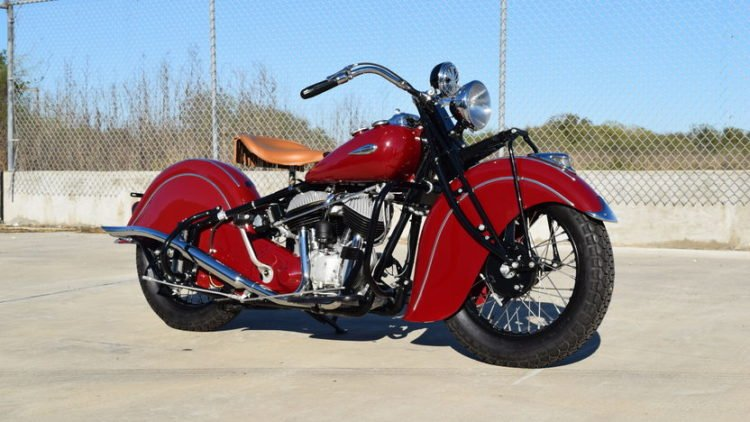 The 1940 Indian Chief
