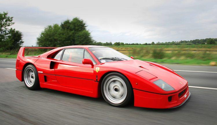 The 1987 Ferrari F40