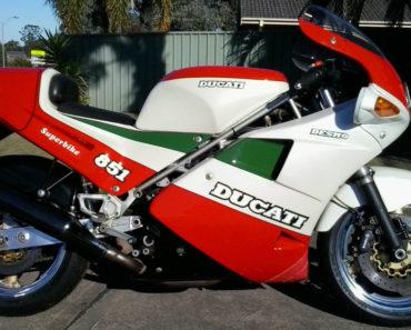 The 1988 Ducati 851 Strada: A Closer Look at the Rare 'Kit' Motorcycle